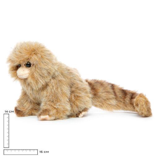 Mooie Bruine Dwergzijdeaapje knuffel  20 cm kopen