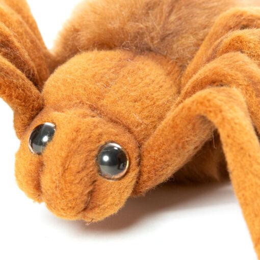 Mooie Roodbruine Vogelspin bruin knuffel  19 cm kopen