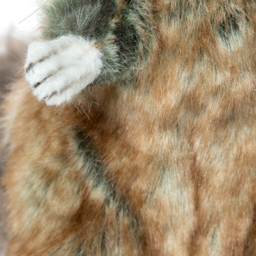 Mooie Licht bruine Chinchilla knuffel  18 cm kopen