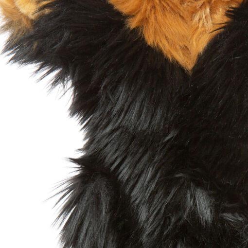 Mooie Beige Langharige teckel handpop knuffel  35 cm kopen