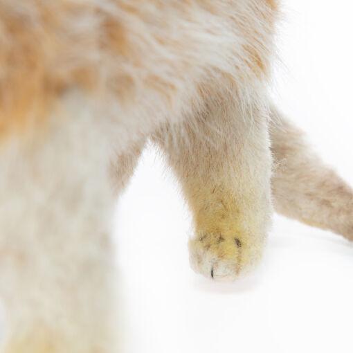 Mooie Beige Meerkat staand knuffel  32 cm kopen