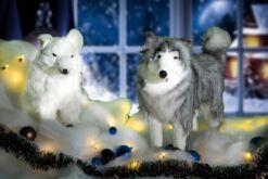 Pluchen kerstdecoratie